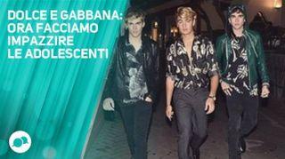 Dolce e Gabbana, che photoshoot epico!