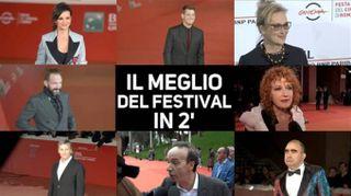Festa del cinema di Roma: tutto il meglio in 2 minuti