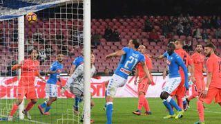 Serie A: Napoli-Empoli 2-0