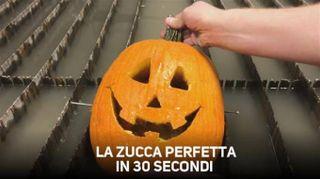 Come preparare una zucca di Halloween in 30 secondi