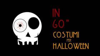 Costumi di halloween in 1': scarpe milleocchi