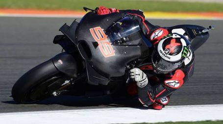 Jorge Lorenzo in sella alla Ducati (Afp)