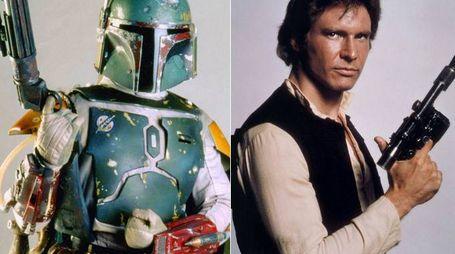 Boba Fett e Han Solo (versione classica)