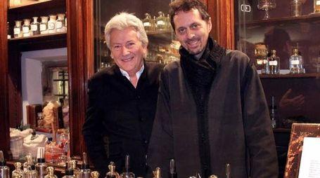 Alessandro Bastagli con Sileno Cheloni (Umberto Visentini/Newpress-Photo)