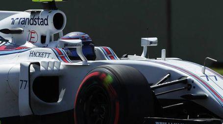 Valtteri Bottas sulla Williams (Ansa)