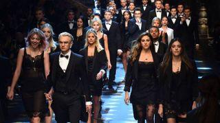 Dolce e Gabbana, influencer e figli d'arte principi in passerella