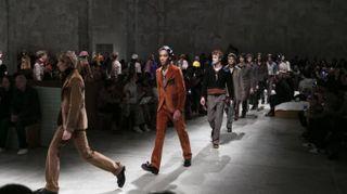 Prada, la sfilata alla Milano Moda Uomo