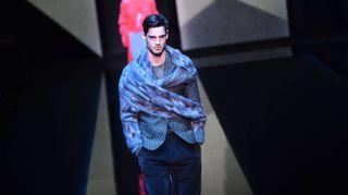 Armani e i suoi Neo-Classici a Milano Moda Uomo