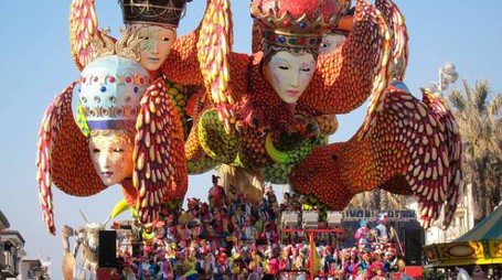 Carnevale di Viareggio. Foto Alexandra via Flickr