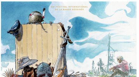 Il manifesto del festival del fumetto di Angoulême