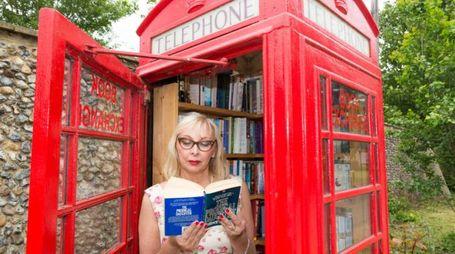 Una bibliocabina a Londra - (Foto: Olycom / David J. Green)