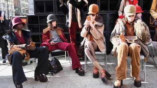 Rivoluzione Marc Jacobs, a New York la sfilata è in strada