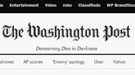 Il Washington Post cambia la testata web (da Wp)