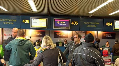Aeroporti: a gennaio passeggeri +8,6%