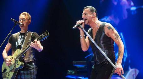 I Depeche Mode in concerto (Foto: Olycom)
