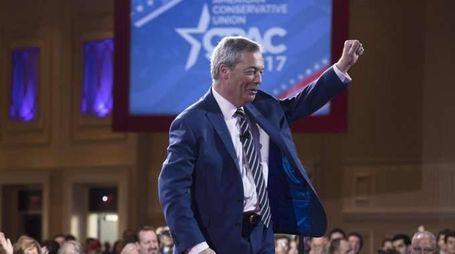 Farage con Trump, è inizio rivoluzione
