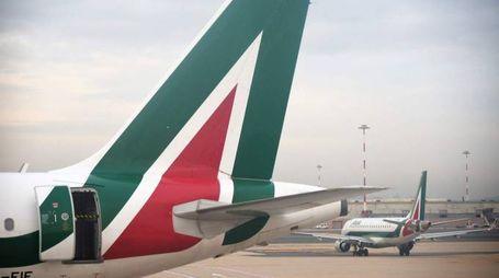 Alitalia (Afp)