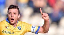 Daniel Ciofani, match winner del Frosinone contro l'Hellas Verona