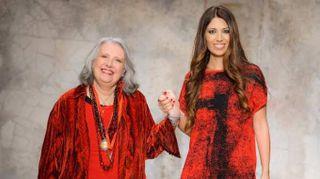 """Laura Biagiotti, il rosso e il bianco. """"Vestirsi è un gesto d'arte"""""""