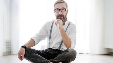 Il cantautore (foto di Angelo Trani).