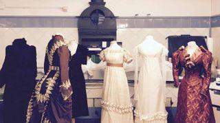 Gli abiti del 'Museo effimero della Moda'