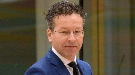 Dijsselbloem, presidente dell'Eurogruppo (Lapresse)