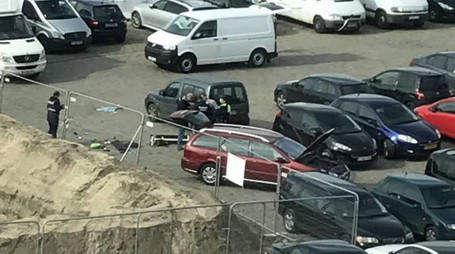 Belgio, auto tenta di schiantarsi sulla folla (Ansa)