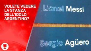 Svelata! La stanza di Messi al ritiro a Buenos Aires