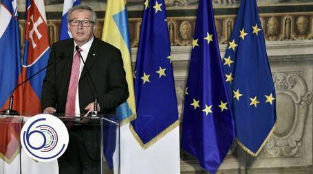 Il presidente della Commissione europea Jean-Claude Juncker (Afp)