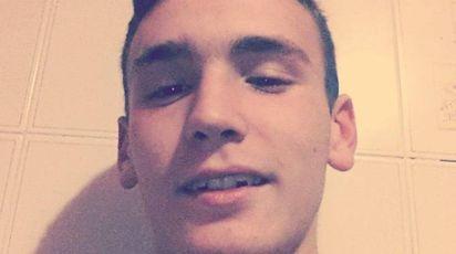 Emanuele Morganti, vittima di un branco a Frosinone (Ansa)