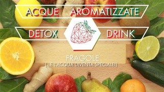 Detox! Acqua aromatizzata alla fragola