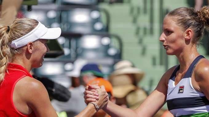Tennis: Miami, Wozniacki prima finalista