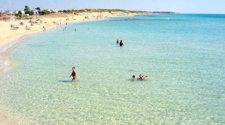 Il mare del Salento @Wikipedia