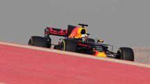 Ricciardo su Red Bull sul circuito di Sakhir (Lapresse)