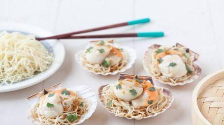 Noodles in capasanta