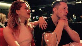 Amber Heard ha un nuovo amore: Elon Musk