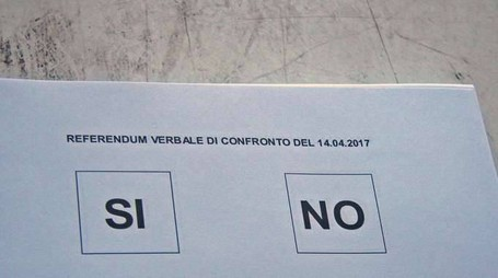 Alitalia: chiusi seggi referendum