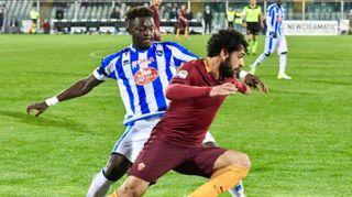 Calcio: Pescara-Roma 1-4