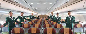 Alitalia, hostess (Newpresse)