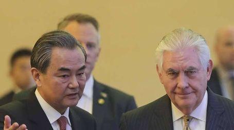 Tillerson,da Cina pressioni su Pyongyang