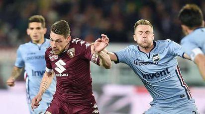 Serie A: Torino-Sampdoria 1-1