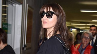 Monica Bellucci, arrivo fashion a Cannes