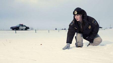 Carrie Coon è la poliziotte Gloria del serial TV Fargo - foto FX