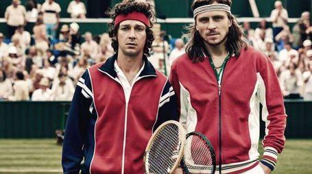 I due protagonisti del film 'Borg/McEnroe' – Foto: Danish Film Institute