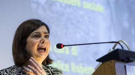 Boldrini, uniti contro il terrore