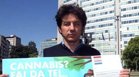 Cappato mette online semi di cannabis