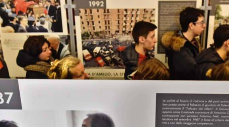 Falcone: mostra Ansa-Miur a Palermo