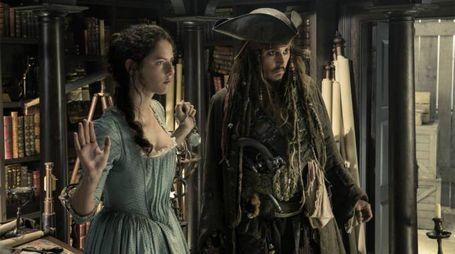 Una scena di 'Pirati dei Caraibi – La vendetta di Salazar' – Foto Walt Disney Pictures
