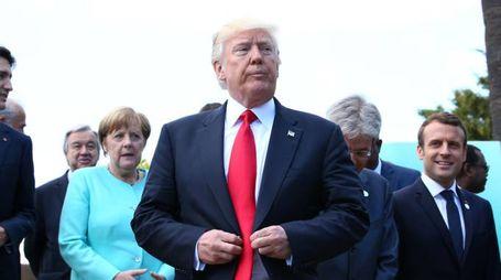 Donald Trump al G7 (Lapresse)