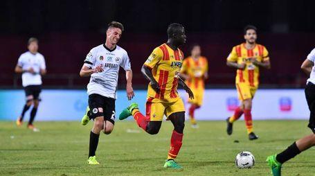 Raman Chibasah, autore del gol vittoria per il Benevento